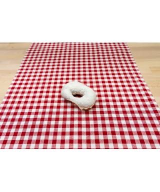 Donut čoko bílá čokos