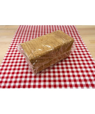 Toustový chléb tmavý 1/2 800g